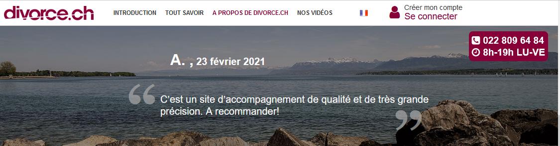 Divorce.ch explique les différents côuts possibles d'un divorce suisse